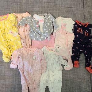 Carters Newborn Girl Bundle